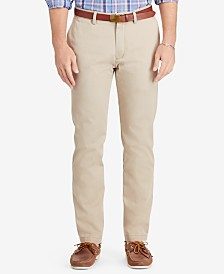 Polo Ralph Lauren Men's Relaxed-Fit Hudson-Tan Suffield Pants