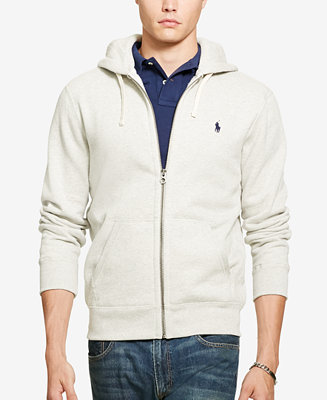 Polo Ralph Lauren Men's Hoodie, Core Full Zip Hooded