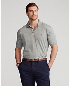Men's Big & Tall Classic Fit Soft Cotton Polo