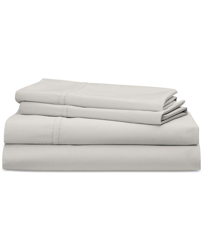 Lauren Ralph Lauren - Spencer Cotton Sateen 475-Thread Count 4-Pc. Solid California King Sheet Set