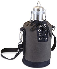 Legacy® by Picnic Time Insulated Growler Tote with 64-Oz. Stainless Steel Growler
