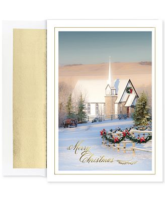 Masterpiece country church set of 18 boxed holiday greeting cards masterpiece country church set of 18 boxed holiday greeting cards with envelopes m4hsunfo