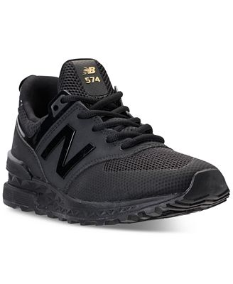 new balance 574 sport women's black