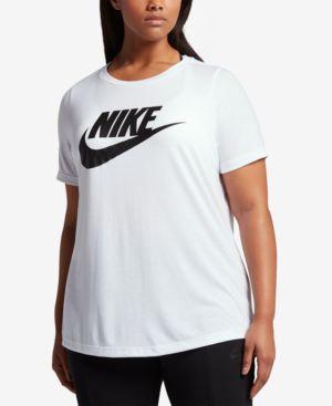 Sportswear Essential Logo T-Shirt, White/Black