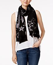 I.N.C. Shining Star Wrap & Scarf in One, Created for Macy's
