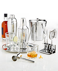Martha Stewart Collection Barware Collection, Created for Macy's