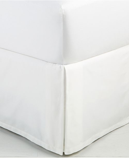 Hotel Collection Trousseau Cotton King Bedskirt, Created for Macy's
