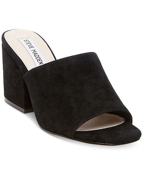 9736d675df31 Steve Madden Women s Dalis Block-Heel Dress Sandals   Reviews ...