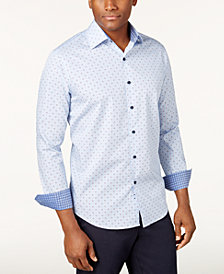 Tasso Elba Men's Debala Plaid Shirt, Created for Macy's