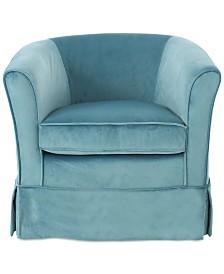 Daylann Swivel Chair, Quick Ship