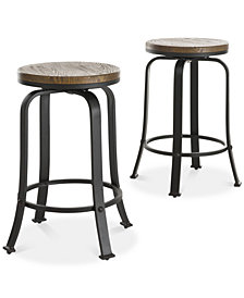 Bentyn Counter Stool (Set Of 2), Quick Ship