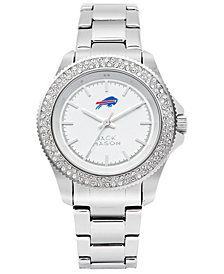 Jack Mason Women's Buffalo Bills Glitz Sport Bracelet Watch
