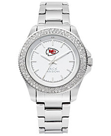 Jack Mason Women's Kansas City Chiefs Glitz Sport Bracelet Watch