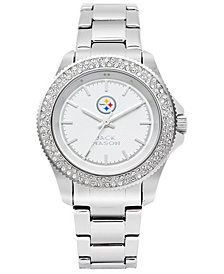 Jack Mason Women's Pittsburgh Steelers Glitz Sport Bracelet Watch