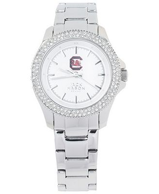 Jack Mason Women's South Carolina Gamecocks Glitz Sport Bracelet Watch
