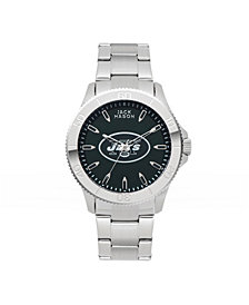 Jack Mason Men's New York Jets Color Sport Bracelet Watch