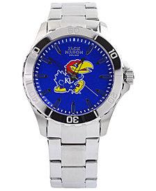 Jack Mason Men's Kansas Jayhawks Color Sport Bracelet Watch