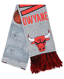 Forever Collectibles Dwyane Wade Chicago Bulls Sublimated Player Scarf