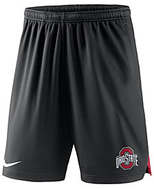 Nike Men's Ohio State Buckeyes Knit Dri-Fit Shorts