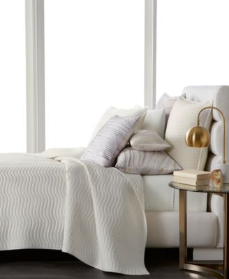 Agate Pima Cotton Quilted Full/Queen Coverlet, Created for Macy's