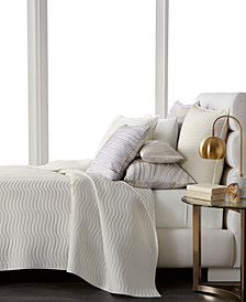 Hotel Collection Agate Pima Cotton Quilted Full/Queen Coverlet, Created for Macy's