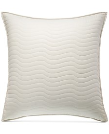 Hotel Collection Agate Pima Cotton Quilted European Sham, Created for Macy's