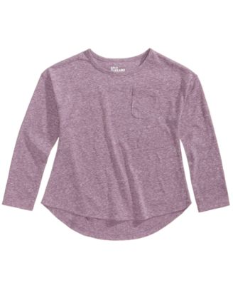 Image of Epic Threads High-Low Hemline Shirt, Little Girls (4-6X), Created for Macy's