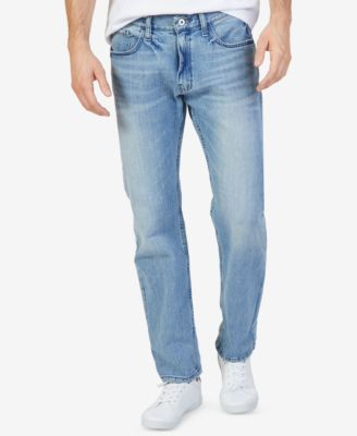 Image of Nautica Men's Stretch Relaxed-Fit Jeans