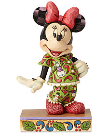 Jim Shore Minnie Christmas Pajamas Figurine
