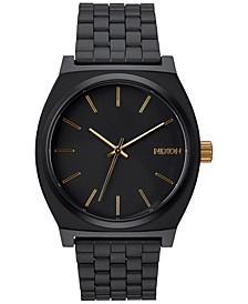 Time Teller Stainless Steel Bracelet Watch 37mm