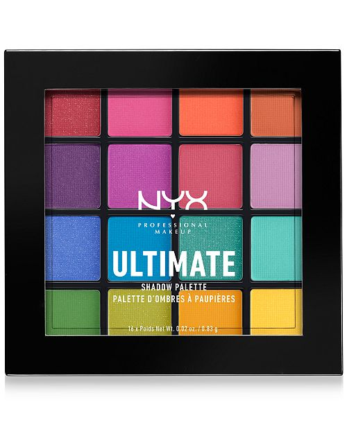 NYX Professional Makeup Ultimate Shadow Palette - Brights