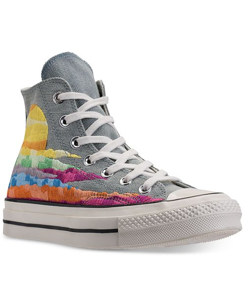 8506207153b2f8 ... Converse Women s Chuck Taylor All Star 70 High-Top Mara Hoffman Casual  Sneakers from Finish ...
