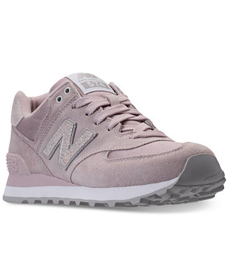 New Balance Women S 574 Shattered Pearl Casual Sneakers