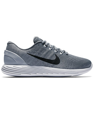 e0c7a9bf12fc Nike Men s LunarGlide 9 Running Sneakers from Finish Line   Reviews -  Finish Line Athletic Shoes - Men - Macy s