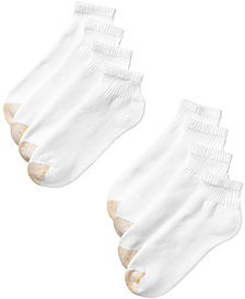 Gold Toe Men's 8-Pack Quarter Socks