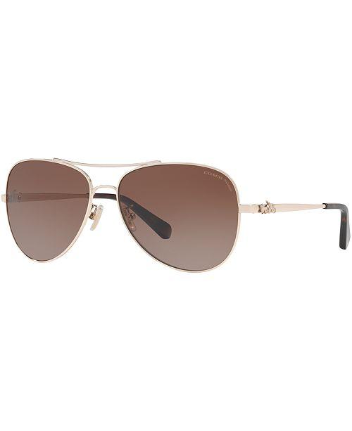 916bf02b64f4 COACH Polarized Sunglasses