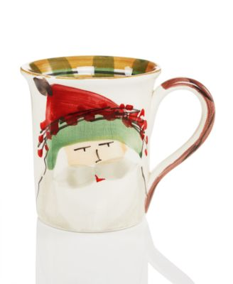 Old St. Nick Green Hat Mug