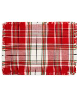 Holland Plaid Placemat, Created for Macy's