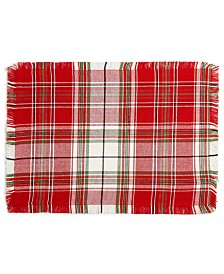 CLOSEOUT! Homewear  Holland Plaid Placemat, Created for Macy's