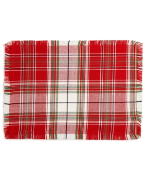Homewear Holland Plaid Placemat Created for Macys