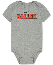 Nike Baller Cotton Bodysuit, Baby Boys