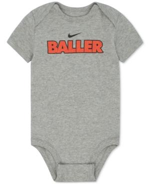 Nike Baller Cotton Bodysuit,...