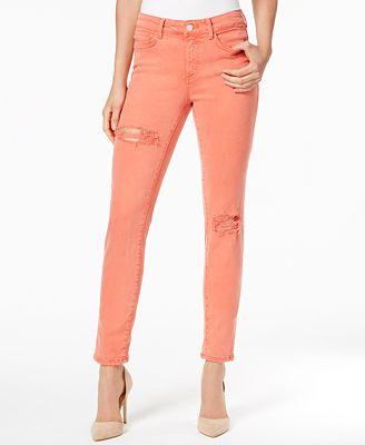 Buffalo David Bitton Hope Ripped Skinny Jeans - Jeans - Women - Macy's
