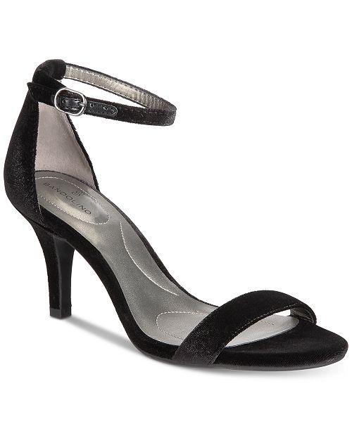 44b76ee0be2f Bandolino Madia Velvet Dress Sandals   Reviews - Sandals   Flip ...