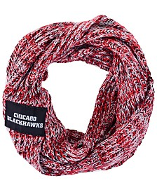 Forever Collectibles Chicago Blackhawks Peak Infinity Scarf