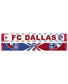 adidas FC Dallas Jacquard Wordmark Scarf