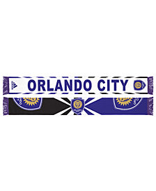 adidas Orlando City SC Jacquard Wordmark Scarf