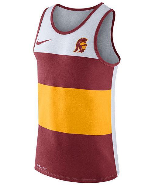 66be7a8339b Nike Men's USC Trojans Team Stripe Tank & Reviews - Sports Fan ...