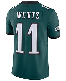 Nike Men's Carson Wentz Philadelphia Eagles Vapor Untouchable Limited Jersey