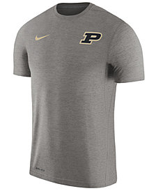 Nike Men's Purdue Boilermakers Dri-Fit Touch T-Shirt